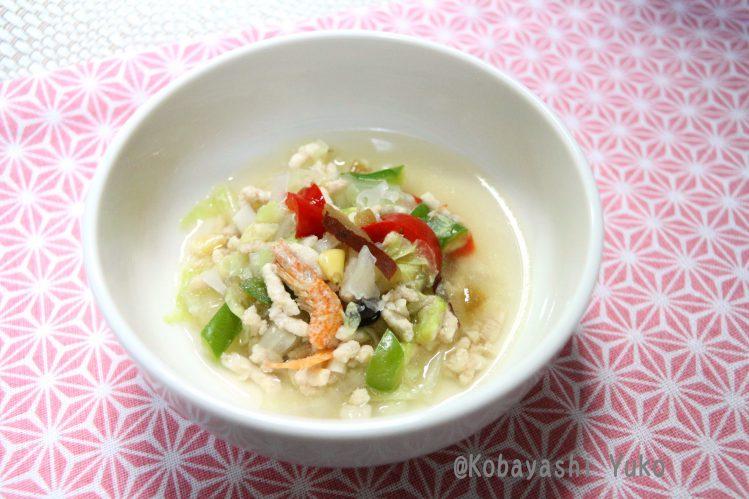 白きくらげとナツメ入りスープ